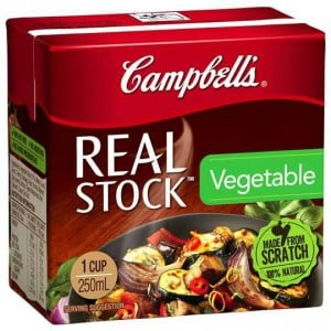Campbells Real Vegetable Stock