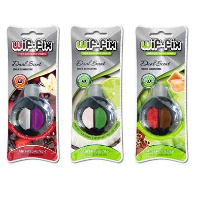 Wif Fix Car Air Freshener Dual Scent
