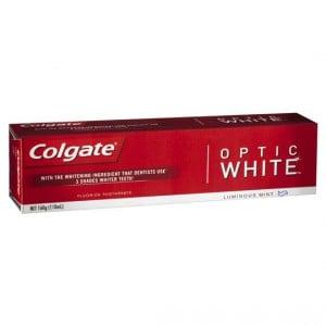Colgate Toothpaste Optic White
