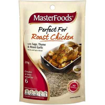 Masterfoods Perfect For Roast Chicken With Sage Thyme & Roast Garlic