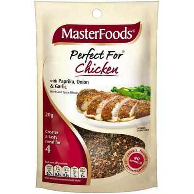 Masterfoods Perfect For Chicken With Paprika, Onion & Garlic