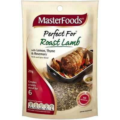 Masterfoods Perfect For Roast Lamb With Lemon, Thyme & Rosemary
