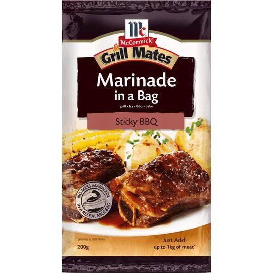 Grill Mates Sticky Bbq Marinade