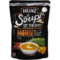 Heinz Soup Of The Day Soup Pouch Harvest Pumpkin & Vegetables