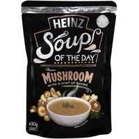 Heinz Soup Of The Day Soup Pouch Mushroom With A Hint Of Thyme