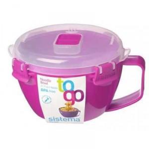 Sistema Plasticware Noodle Bowl To Go