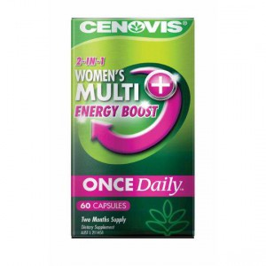 Cenovis Once Daily Womens Multi Plus Energy Boost