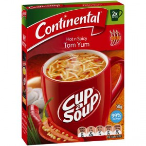 Continental Cup A Soup Hot And Spicy Tom Yum