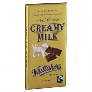 Whittakers Milk Chocolate 33% Cocoa Creamy