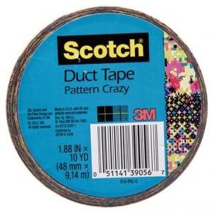 Scotch Duct Tape Crazy Pattern