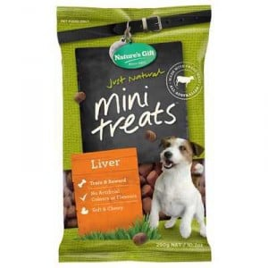 Nature's Gift Treat Liver Mini