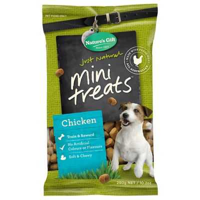 Nature's Gift Treat Chicken Mini