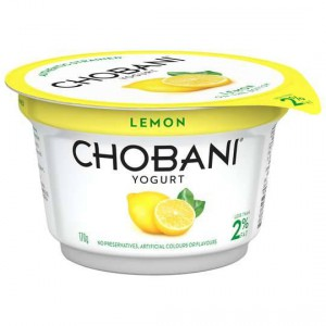 Chobani Low Fat Lemon Yoghurt