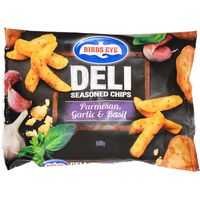Birds Eye Seasoned Chips Straight Cut Parmesan Garlic & Basil