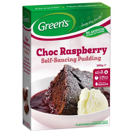 Green's Pudding Chocolate Raspberry