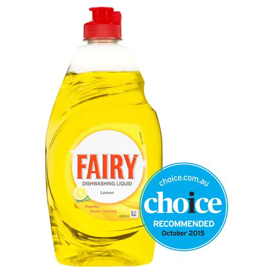 Fairy Hand Dishwashing Liquid Lemon