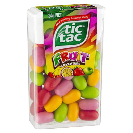 Tic Tac Fruit Adventure Fruit Adventure