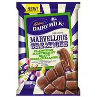 Cadbury Dairy Milk Marvellous Creations Clinker Raspberry Chips