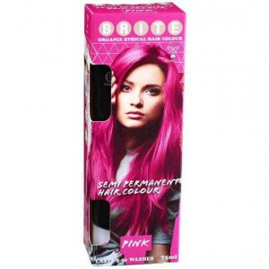 Brite Organix Semi Permanent Hair Colour Pink