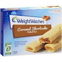 Weight Watchers Baked Bar Caramel Shortcake