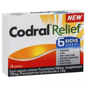 Codral Relief 6 Signs Capsules