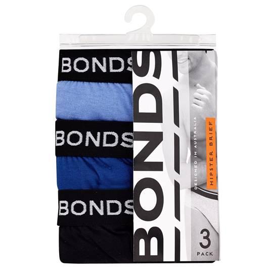 Bonds Mens Underwear Elastic Brief Medium