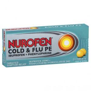 Nurofen Cold & Flu Pe Tablets