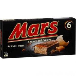 Mars Ice Cream Bars Ice Cream