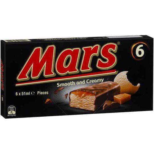 Mars Ice Cream Bars Ice Cream