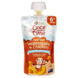 Once Upon A Time 6 Months Vegetable & Chicken