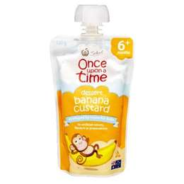 Once Upon A Time 6 Months Banana Custard