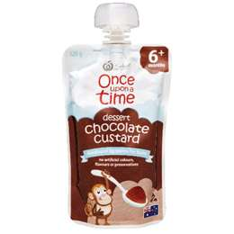 Once Upon A Time 6 Months Chocolate Custard