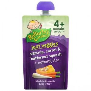 Rafferty's Garden Just Veggies Parsnip, Carrot, Butternut, Squash