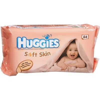 Huggies Baby Wipes Soft Skin