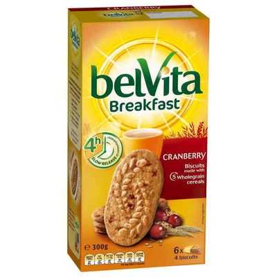 Belvita Cranberry Breakfast Biscuits
