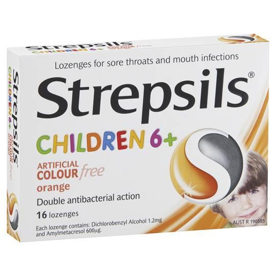 Strepsils Orange Children
