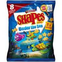 Arnott's Shapes Goes Snacks Under The Sea Cheddar