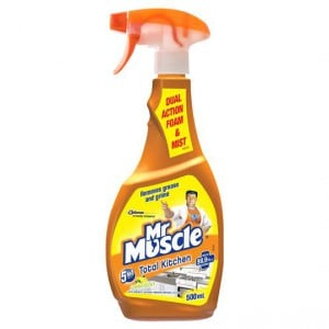 Mr Muscle Kitchen Cleaner 5 In 1 Total