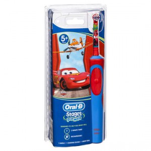 Oral-b Stages Power Toothbrush Soft Disney Cars 5yrs+
