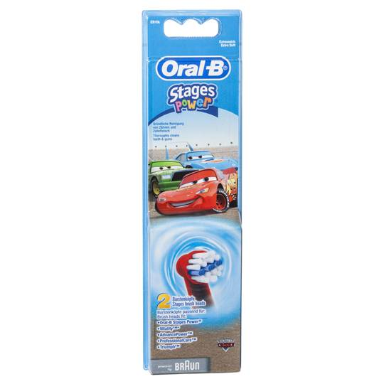 Oral-b Stages Pro Health Power Toothbrush Disney Eb10 Refill