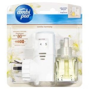 Ambi Pur Plug In Air Freshener Set Vanilla Harmony