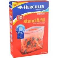Hercules Sandwich Bags Stand N Fil