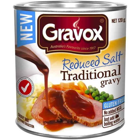 Gravox Gravy Mix Traditional Reduced Salt