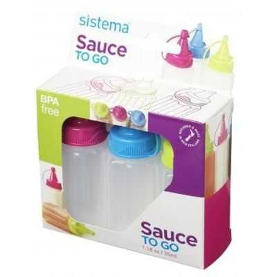 Sistema Plasticware Sauce Pot To Go