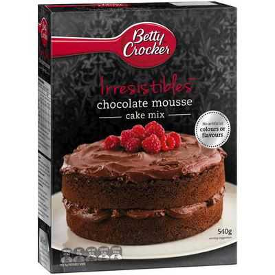 Betty Crocker Cake Mix Chocolate Mousse