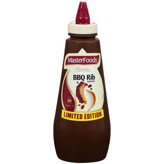 Masterfoods Barbecue Sauce Rib Limited Edition
