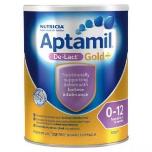 Aptamil Gold+ De-lact Lactose Free Formula 0-12mnths