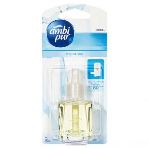 Ambi Pur Plug In Air Freshener Refill Linen & Sky