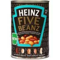 Heinz Five Beanz Mixed Beans Tomato Sauce
