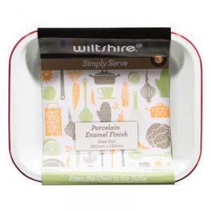 Wiltshire Bakeware Enamel Bake Baker 28cm